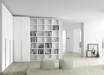 Armadio Soggiorno Ikea | Bookcase, Home decor, Shelves