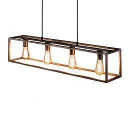 Deckenlampe In Canja Design AltsilberfarbenLampen Aus Metall 34Rq5jcLA