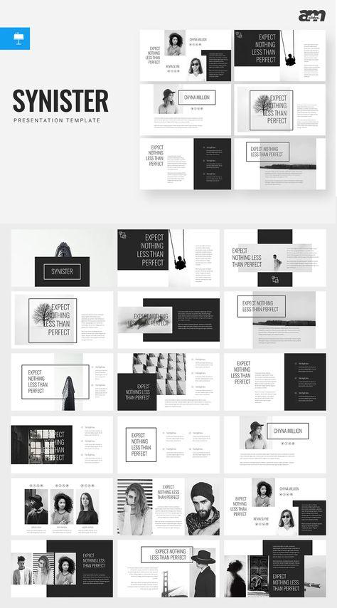 Synister Keynote Presentation Template