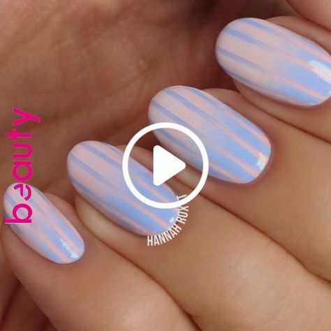 How to Get Cotton Candy Nails