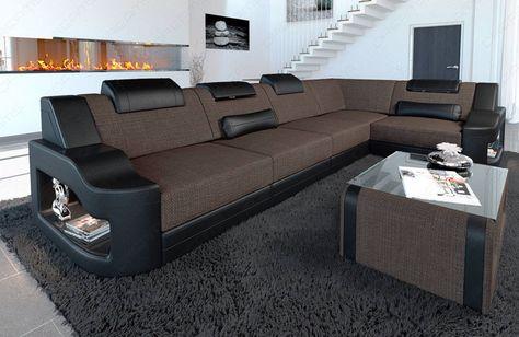 Slaapbank Manhattan Vd.Fabric Corner Sofa Manhattan In 2020 Living Room Sofa Design