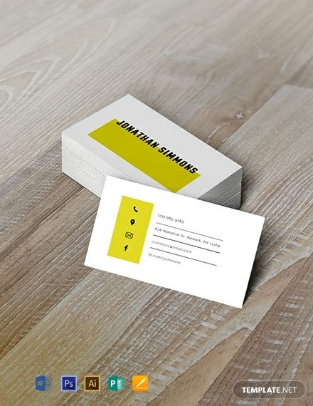 Free Simple Business Card Free Business Card Templates Simple Business Cards Free Business Cards