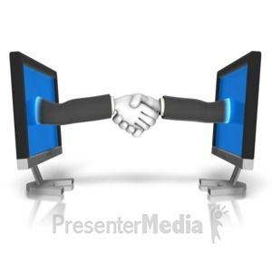 Two Stickmen Shaking Hands Puzzle 3d Animated Clipart For Powerpoint Presentermedia Com Clip Art Animated Clipart Powerpoint