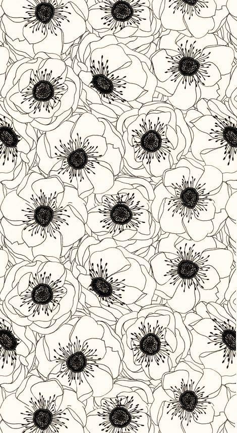 Des fleurs et des murs   http://blog.shanegraphique.com/graphismemotif-floral/