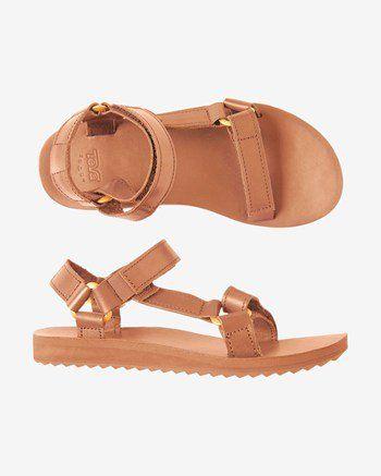 Women's Teva Leather Sandals   Sandals heels, Teva sandals