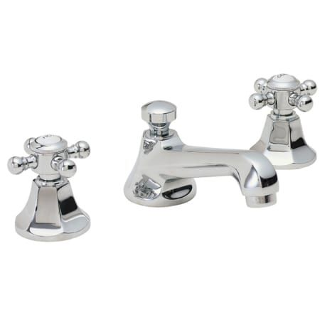Cardiff 8 Widespread Lavatory Faucet Spout Projection 5 1 8 To Center1 4 Turn Ceramic Disc Cartridge S 1 1 4 All Brass Lift R Flanagan Bathroom Bathr