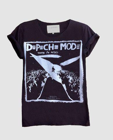 Depeche Mode T-Shirt Bande Photo Hommes Unisexe T-Shirt