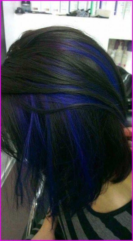 Hair Color Blue Peekaboo 45 New Ideas Hair Blue Hair