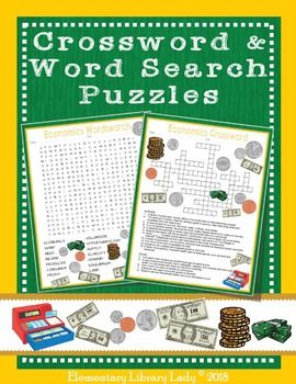 Economics Activities Crossword Puzzle And Word Search Find