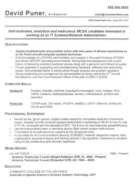 Protocol Specialist Sample Resume Resume For Computer Trainer  Httpwww.resumecareerresume .