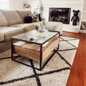 Box Frame Storage Coffee Table Coffee Table With Storage Table