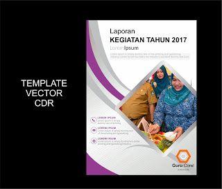 Free Download Cover Laporan Kegiatan 2017 Guru Corel Lorem Ipsum Sampul Laporan Desain Brosur