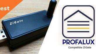 Profalux Zoe Compatible Zigate Domotique Porte Garage Faire