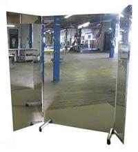 A Light Weight Portable Mirror