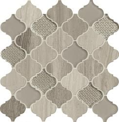 arabesque tile bathroom stone mosaic tile