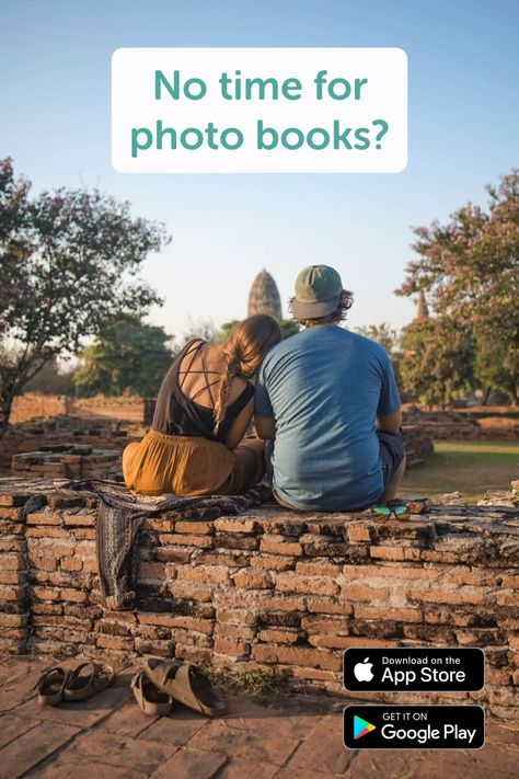 We all know this problem! But your photos are too precious to only exists within your phone. With Journi, you can turn your favorite moments into beautiful photo books within just 55 seconds! What are you waiting for? Try it out know and save 5€ with the code FIRSTBOOK 🔥