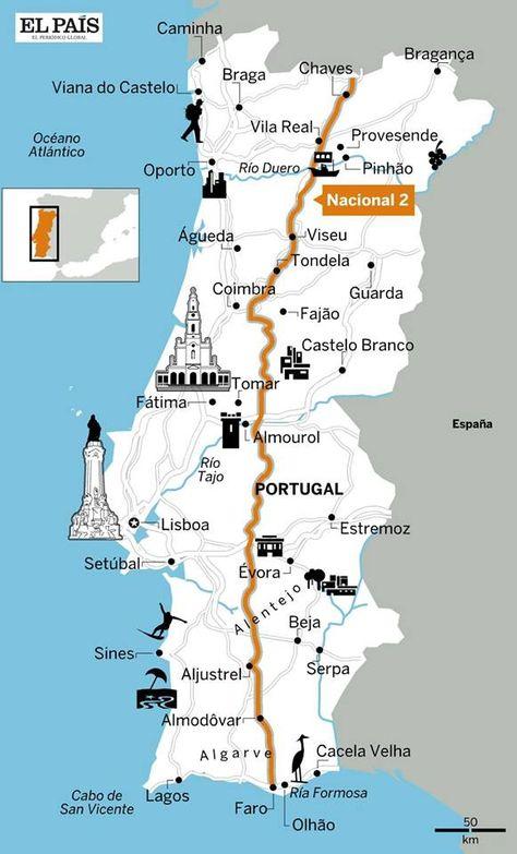 Mapa Portugal Jardins Do Sul Pesquisa Google Roteiro De Viagem