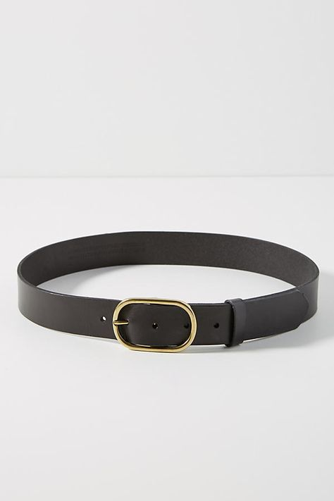Plus Size Anthropologie Mabel Belt in Black Size: 2 X, Women's Belts Accesorios Casual, Leather Belts, Women's Belts, Fashion Belts, Fashion Clothes, Classic Leather, Belts For Women, Girls Belts, Black Belt