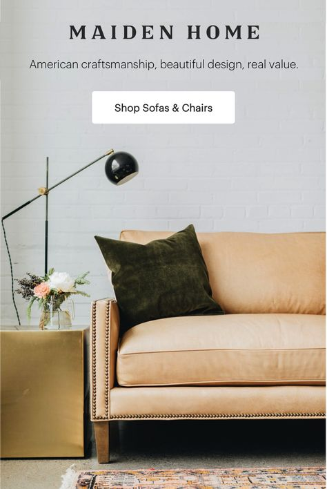 Discover designer quality, custom furniture that fits your budget and your lifestyle.