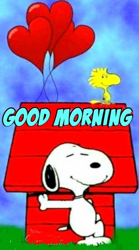 Gif morgen snoopy guten guten morgen
