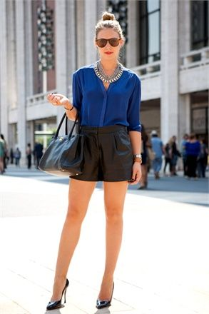 21 Best Leather Look images | My style, Leather shorts, Fashion