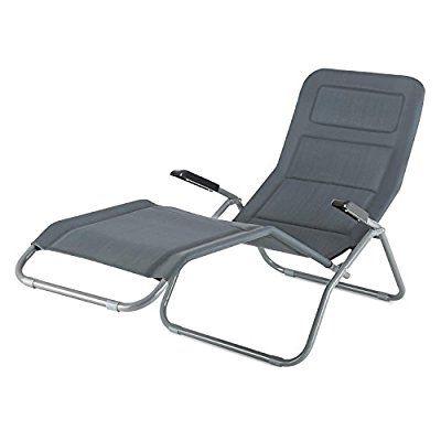 Amazon De Blumfeldt Vitello Noble Grey Gartenliege Baderliege Sonnenliege Liegestuhl Ergonomische Form Outdoor Chairs Balcony Railing Sun Lounger