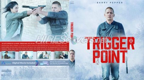 DVD Cover Custom DVD covers BluRay label movie art - Blu-ray CUSTOM Covers - T / Trigger Point (2021)