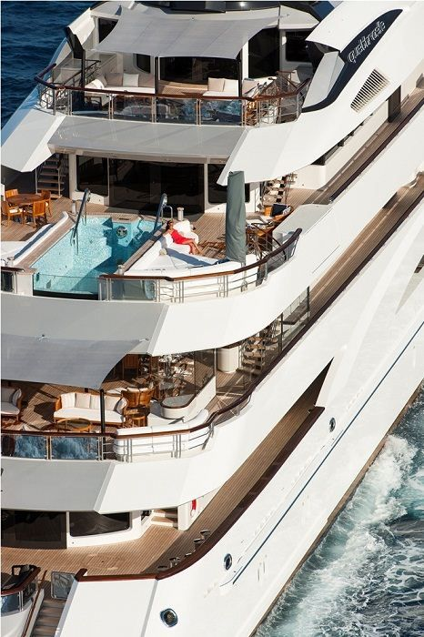 Most Luxurious Super Yacht: Quattroelle Is The First Lürssen Yacht Designed  By Nuvolari Lenard