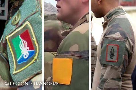 Légion Étrangère  Aufnäher Patch