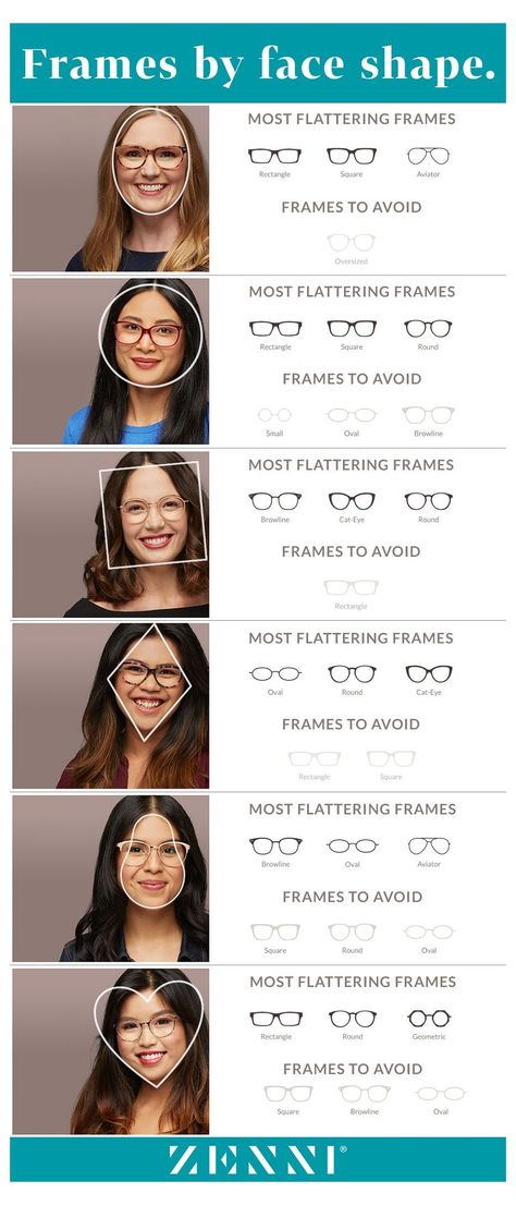 Round Face Glasses Frames, Glasses For Long Faces, Eyeglasses For Women Round Face, Womens Glasses Frames, Glasses For Your Face Shape, Hair For Round Face Shape, Funky Glasses, Rectangle Face Shape, Oval Face Shapes