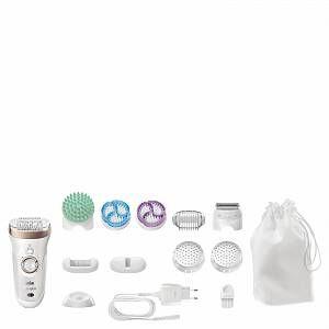 Braun Silk Epil 9 Skinspa 9961 Wet And Dry Epilator And Exfoliator In 2020 Braun Silk Epil 9 Wet Dry Braun 9