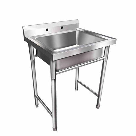 Industrial Scientific Stainless Steel Utility Sink Restaurant