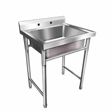 Industrial Scientific Stainless Steel Utility Sink Restaurant