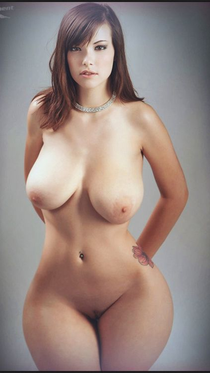 Models with perfect fake tits