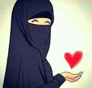 صور بنت محجبة شخصية كرتونية جميلة Girl Cartoon Photo Patchwork Bags