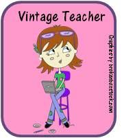 PIN, REPIN, and REPIN...  In October 2011, The Vintage Teacher (Pam) went to be with the Lord. Teachers Notebook has listed all of Pam's products for free (over 60 of them) as her family feels that is the legacy Pam would have wanted to leave for teachers everywhere. Please share Pam's amazing products with your students. She will be smiling down from heaven knowing her products are continuing to help and inspire others.