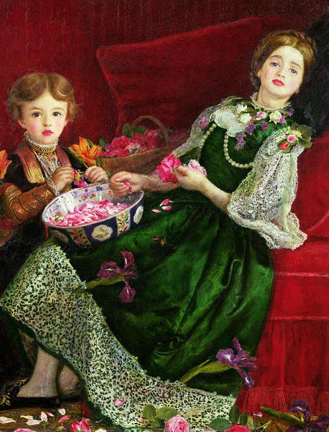 Pot Pourri  Painting by Sir John Everett Millais