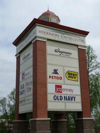 Large Pylon Sign With Tenant Ads Pylon Sign Sign Design Create