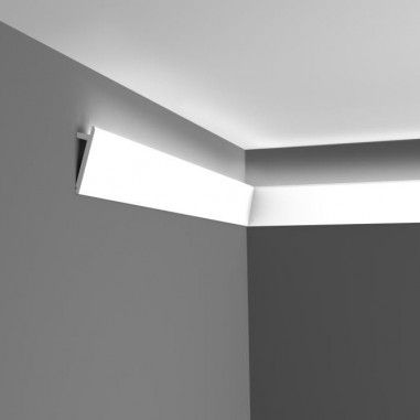 Corniche Led Diagonal Eclairage Corniche Ruban Led Corniches