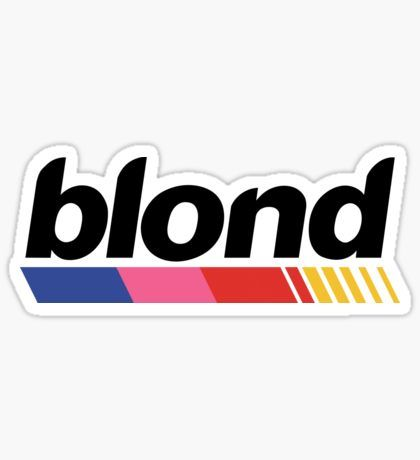 Frank Ocean Blonde Logo Png