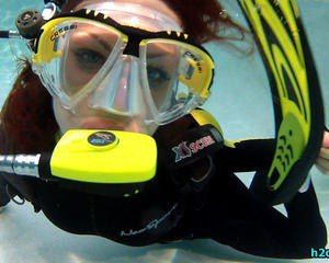 Erg Mooie Duiken Leuk 036619 Scuba Diver Girls Scuba Girl Wetsuit Scuba Diver