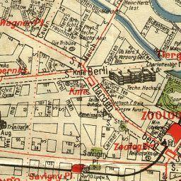Stadtplan Von Olympiade Berlin 1936 Keine Angaben 1936 Landkartenarchiv De Berlin Olympia Berlin Stadtplan