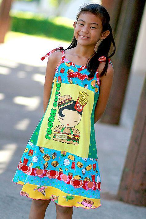 Hapa Girl Boutique Harajuku upcycle dress | Girls Boutique Clothing ...