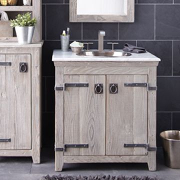 Images Of Rustic bathroom ideas Grey bathroom furniture Driftwood bathroom vanity