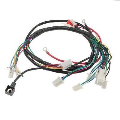 Electric Wiring Harness For Chinese ATV UTV Quad 4 Wheeler  50/70/90/110/125cc in 2020 | 4 wheeler, Atv, QuadPinterest