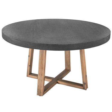 Table Ronde Tambora 140 Cm Petite Table Ronde Mobilier De Salon