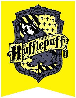 Crest Ads Halloween 2020 eBay Ad Link) Harry Potter Hufflepuff House Flag Hogwarts Bumper