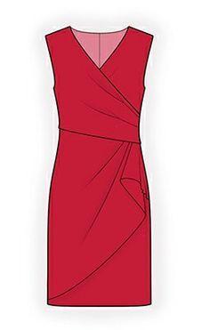 4294 Personalized Dress Pattern PDF sewing pattern by TipTopFit