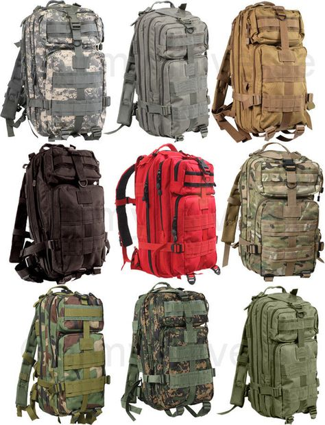 ArmyUniverse Military Style Level III Medium Transport MOLLE Assault Pack Bag  Backpack  Backpack  TacticalBag  AssaultBag  MilitaryPack 98a8619c0e8