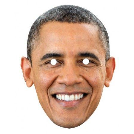 Barack Obama 187 Celebrity Mask in 2020   Celebrity faces ...
